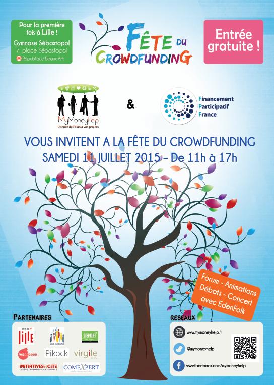 Affiche Fête du CF à Lille le 11.07.2015