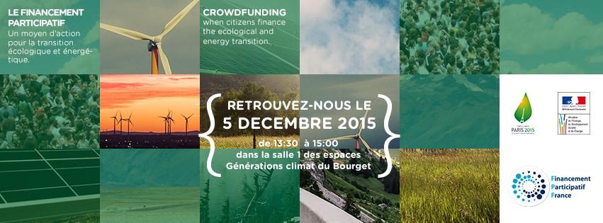 Le crowdfunding s'invite à la COP21