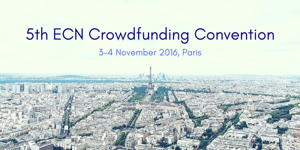 5th ECN Crowdfunding Convention