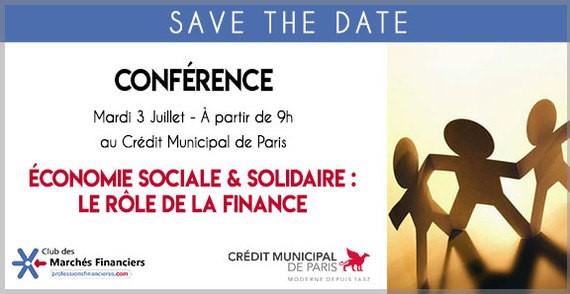 ÉconomieSocialeet Solidaire: le rôle de la Finance