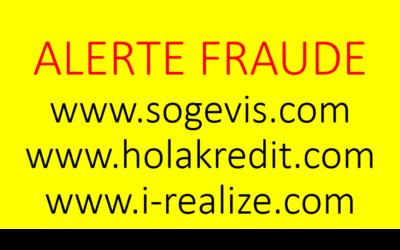 Alerte fraudes