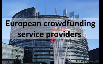 Une réglementation européenne pour le crowdfunding