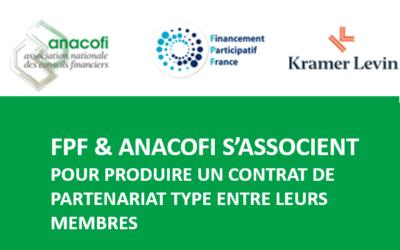 FPF & ANACOFI s'associent pour produire un contrat de partenariat type entre leurs membres