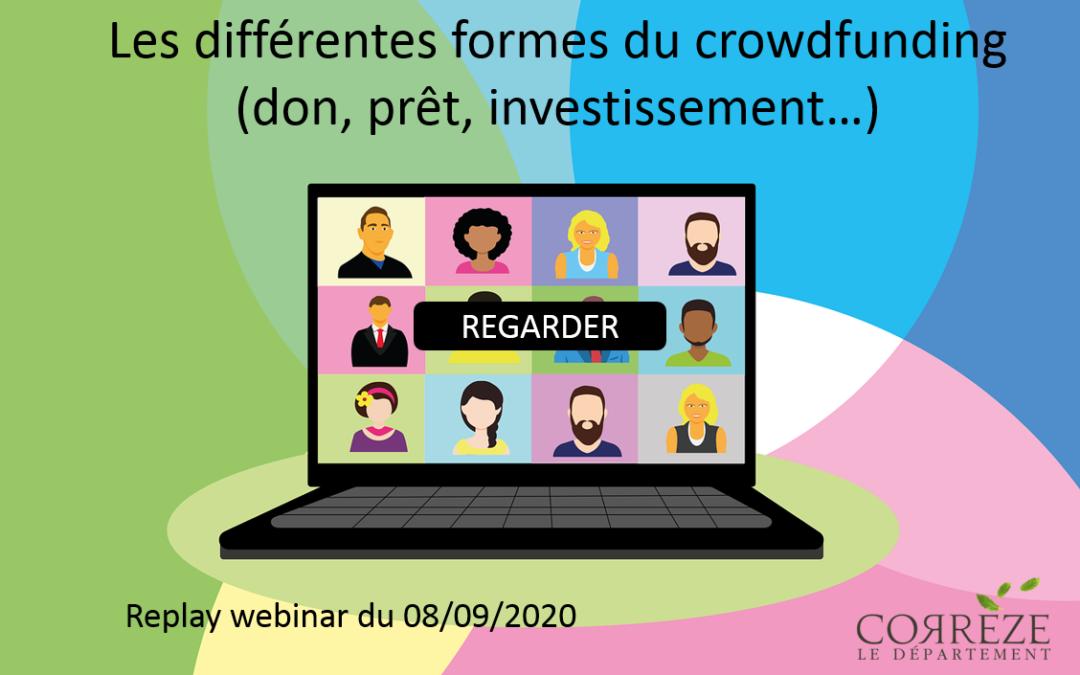 Webinar : Les différentes formes de crowdfunding