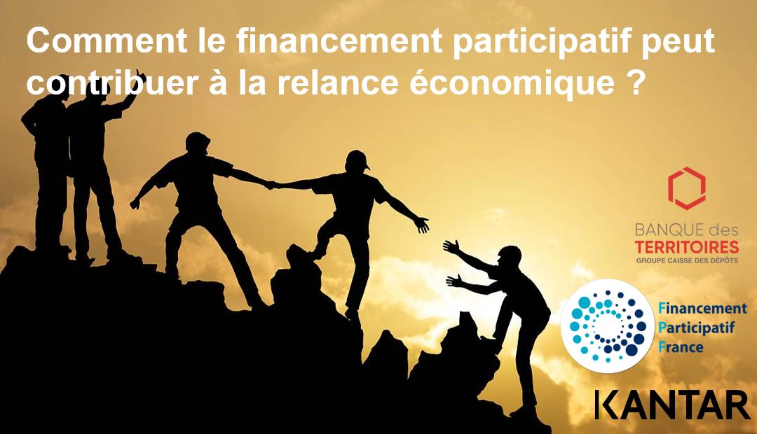 ÉTUDE SUR LE FINANCEMENT PARTICIPATIF COMME OUTIL POUR LA RELANCE